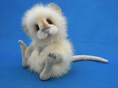 'Mink Mouse' by Kathy Myers @ teddy-talk.com