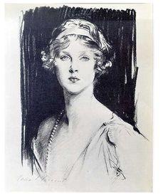 John Singer Sargent -  Lady Diana Cooper