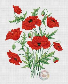 This Pin was discovered by jac Cross Stitch Thread, Cross Stitch Pillow, Cross Stitch Love, Cross Stitch Flowers, Cross Stitch Designs, Cross Stitching, Cross Stitch Embroidery, Hand Embroidery, Bead Loom Patterns