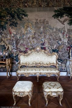 Rosenborg Castle, Copenhagen, Denmark Kingdom Of Denmark, Visit Denmark, Old World Style, Hotels, Copenhagen Denmark, Ottoman Bench, Decoration, Beautiful World, French Interior
