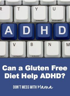 "Can a Gluten Free Diet Help ADHD? by Tracey Black - Argument on benefits of gluten free diets. Includes links to articles on becoming a gluten free family. Tracey also wrote the cookbook, ""Gluten Free Meals for Kids"" ($23.00)"