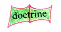 "Key Word Symbol – ""doctrine"""