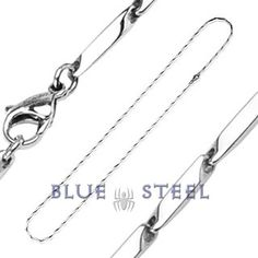 PIN IT TO WIN IT! Limelight: Limelight necklace will light the stage, with its prism cut links. The interlocking prism links have a sharp edge and align to form a modern and distinguishing necklace. Pendants look great on this necklace!      $79.99  www.buybluesteel.com