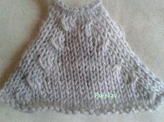 Disminuciones manga ranglan II Knitting Stiches, Baby Knitting Patterns, Crochet Stitches, Hand Knitting, Knit Crochet, Crochet Hats, Diy Crafts Knitting, Knit Edge, Knitted Hats