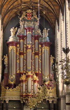 Christian Müller Grote of st. bavokerk Haarlem