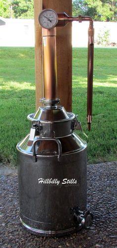 8 Gallon Copper Moonshine Still   Moonshine Kit