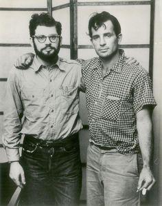Jack-Kerouac & Allen-Ginsberg - two of the best American poets. Clique na foto para garantir livros da Beat Generation.