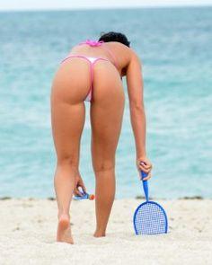 Exclusive... Anais Zanotti & Coralie Teraiefa Show Off Their Bikini Bodies