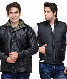 57% discount on TSX Pack of 2 Classy Black Jackets at Snapdeal.com