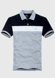 Men's Short Sleeve P By: Hectoralbes Sports Polo Shirts, Mens Polo T Shirts, Short Sleeve Polo Shirts, Polo Shirt Style, Polo Shirt Design, Moda Converse, Polo Outfit, Jean Shirts, Fit Men