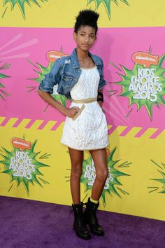91574ad2b Willow Smith in Chanel - Kids' Choice Awards 2013 Chanel Kids, Kids Choice  Awards