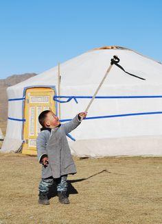 Joy . Mongolia
