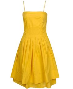 I love yellow. I don't own much yellow but I always like the idea of yellow. I think the main problem is the shade of yellow never seems quite right but this Forever 21 option is right on the money. And at $23 its not very much money anyway.