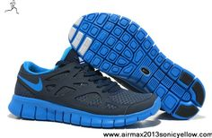 Buy Nike Free Run 2 NSW Thunder Blue Photo Blue Obsidian White 540244-444 Mens Newest Now