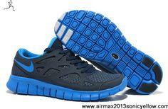 Buy Nike Free Run 2 NSW Thunder Blue Photo Blue Obsidian White 540244-444 Mens Newest Now