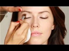 How to put makeup on sagging eyelids and hooded eyelids.