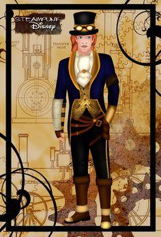 Steampunk Adam by ~HelleeTitch on deviantART