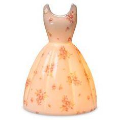 Flower Dress Night Light - White - Simply Shabby Chic™