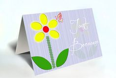 Give this beautiful card to a loved one....Just Because. Write your touching words on the inside.