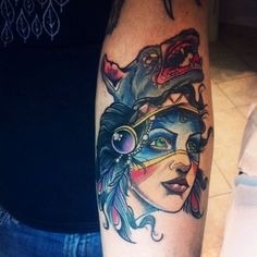Awesome tattoo on the arm. #tattoo #tattoos #ink