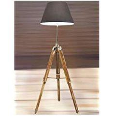 VINTAGE WOODEN LAMP STANDE SHADE FLOOR TRIPOD ADJUSTABLE TEAK TRIPOD LAMP SILVER Tripod Lamp, Floor Lamps, Light Decorations, Lamp Light, Lighting, Vintage, Design, Home Decor, Decoration Home