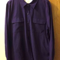 For Sale: APT. 9 Purple Blouse  for $18