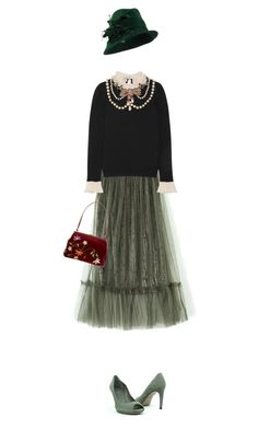 """""""1920s"""" by cattrina-k ❤ liked on Polyvore featuring Gucci and Dolce&Gabbana"""