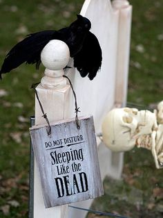 This goes with the dead and breakfast yard decor.
