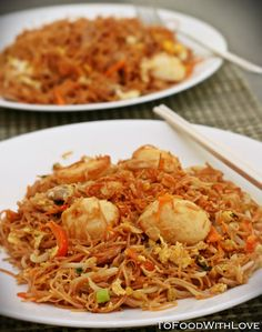 To Food with Love: Fried Mee Suah