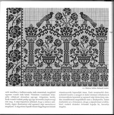 broderies traditions et chats - berze Szilvi - Picasa Web Album Cross Stitch Boarders, Cross Stitch Bird, Cross Stitch Samplers, Cross Stitch Charts, Cross Stitch Designs, Cross Stitching, Cross Stitch Patterns, Blackwork Embroidery, Hungarian Embroidery