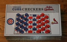 NEW CHICAGO CUBS ST.LOUIS CARDINALS CLASSIC RIVAL EDITION CHECKERS-1997-baseball