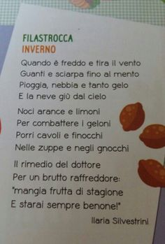 inverno Italian Language, Primary School, New Job, Nursery Rhymes, Homeschool, Classroom, Teaching, Ideas, Snow