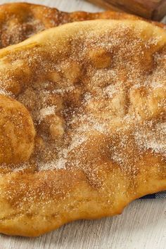 Cinnamon and Sugar Elephant Ears Recipe