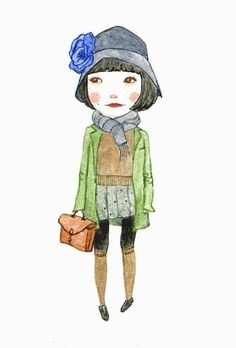 Ma Petite Anouk 5 x 7 print by poppopportraits on Etsy, $9.00