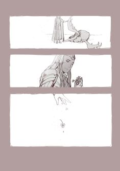 thr history of Thranduil and his elk
