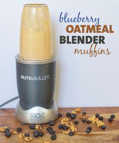 Blueberry Oatmeal Blender Muffins Recipe | BeachbodyBlog.com