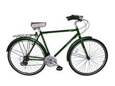 Micargi Kuba 7 Shimano 7-Speed City/Commuter Bike (Dark Green) Vintage – kookabike