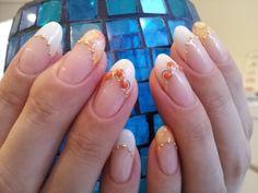 summer french nail