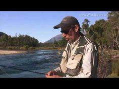 Técnica de pesca con ninfas en la Patagonia Argentina - YouTube