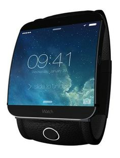 Here's an 'iWatch' with Curved Sapphire Display, Touch ID & More [Concept]
