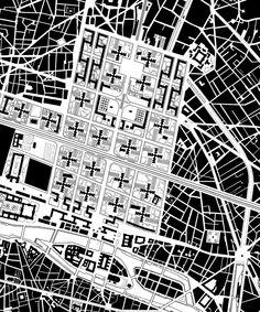 Le Corbusier, Plan Voisin, Paris, France, 1925