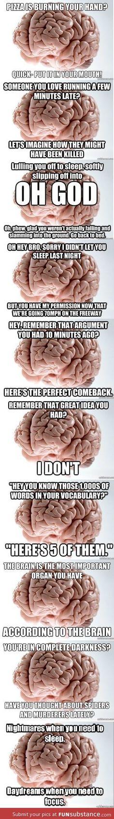 The mind is sooo brilliant... isn't it?