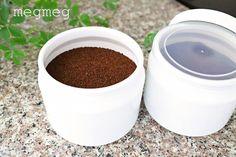 冷蔵庫にコーヒーを収納 〜シンプルな保存容器 | メグメグの好奇心♪♪ 収納インテリア