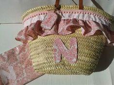 "Con P de P: ""CESTA"" Pink Summer, New Bag, Straw Bag, Diy And Crafts, Reusable Tote Bags, Basket, Boho, Beach, Fashion"