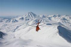 Heliskiing & Heliboarding in Kamchatka Russia