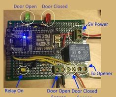 This IoT project is designed to create a useful device and also a framework for other devices.Why do you want this? Does your family ever leave the garage door o...