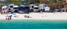 CAMP GULF Campground - Beachfront RV Sites Destin, FL