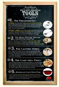 Check our list of 5 Essential Beef Tools to see what tools you can use to improve your beef dishes Beef Dishes, Beef Recipes, Improve Yourself, Infographic, Essentials, Tools, Canning, Dinner, Check