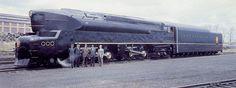 Pennsylvania RR Baldwin T1  designed by Raymond Lowey