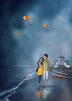 Anime art couples romantic pictures 55 New Ideas Drawings Of Love Couples, Couple Drawings, Love Drawings, Love Cartoon Couple, Cute Couple Art, Anime Love Couple, Painting Love Couple, Animated Love Images, Cute Love Cartoons